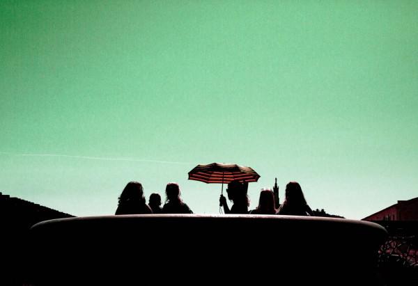 Coup de Cœur Juge 1 - Parapluie rouge de Julie Mayer - Photo Club Carry Côte Bleue