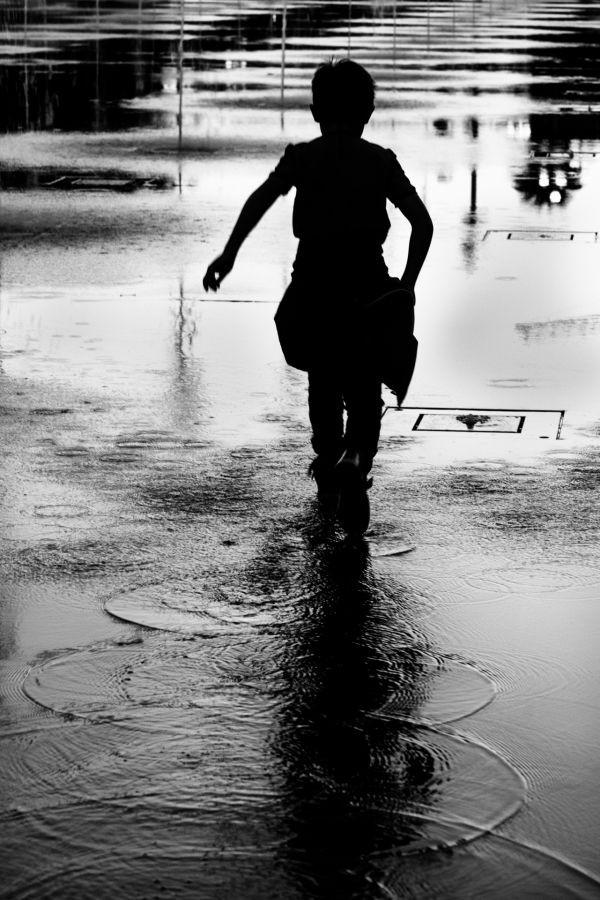 Les ronds dans l'eau de Laurent Allard - Photo Club Mouansois