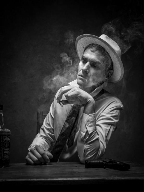 Le fumeur de Didier Strugala - Photo Club Carry Côte Bleue