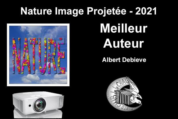 Meilleur Auteur de la compétition -Albert Debieve - Photo Club de La Crau