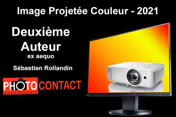 Deuxième Auteur ex aequo - Sébastien Rollandin - Photo Contact Puyricard
