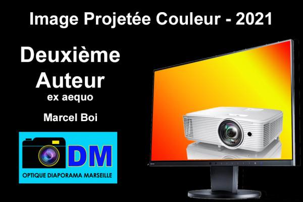 Deuxième Auteur ex aequo - Marcel Boi - Optique Diaporama Marseille