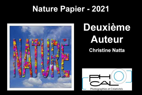Deuxième Auteur - Nature Papier - Christine Natta - PHOCAL