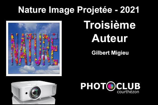 Troisième Auteur - Gilbert Migieu de Photo Ciné Club Courthezonnais