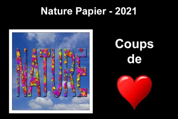 Coups de Cœur - Nature Papier