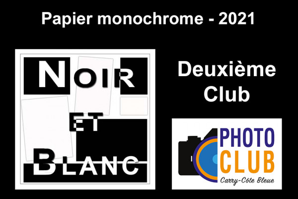 Deuxième Club - Papier Monochrome
