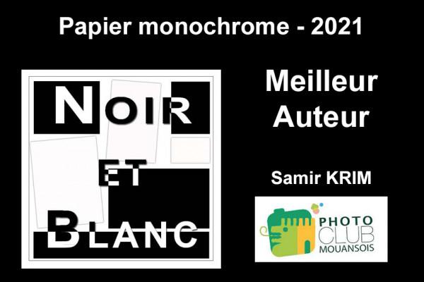 Meilleur Auteur Papier Monochrome