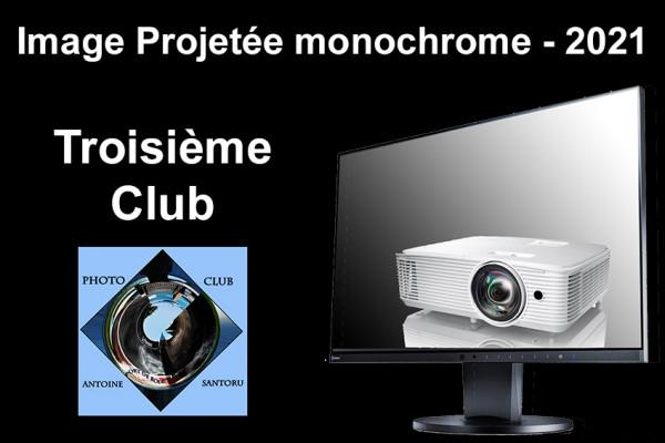 Troisième Club IP Monochrome