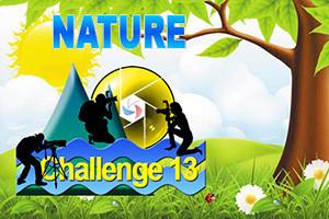 "Challenge 13 - Défi N° 4 - ""Nature"""
