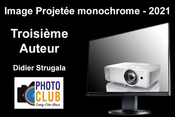 Troisième Auteur IP Monochrome