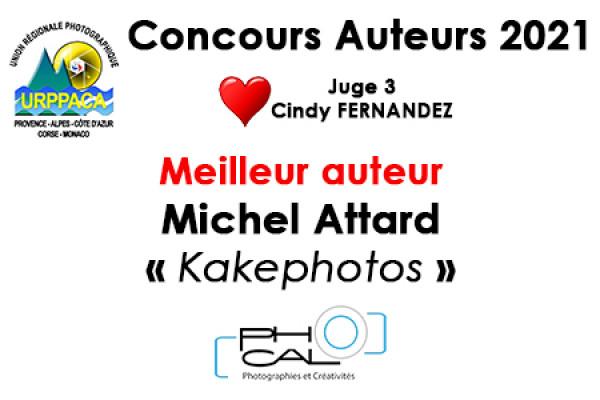 Meilleur Auteur - Michel Attard