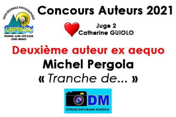 Deuxième auteur ex aequo - Michel Pergola - Optique Diaporama Marseille